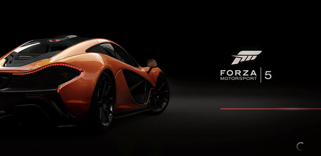 Forza 5 loading screen