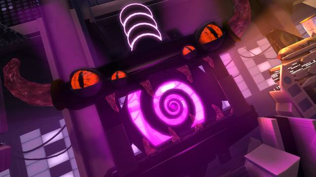 The Negativitron is the evil character in Little Big Planet 2.