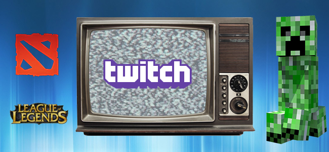 Streaming games with Twitch