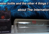 The water bottle and the other 4 things I liked about the International 4