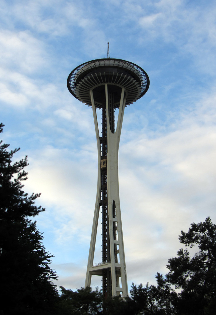 The Space Needle is right next to the KeyArena where TI4 was held.