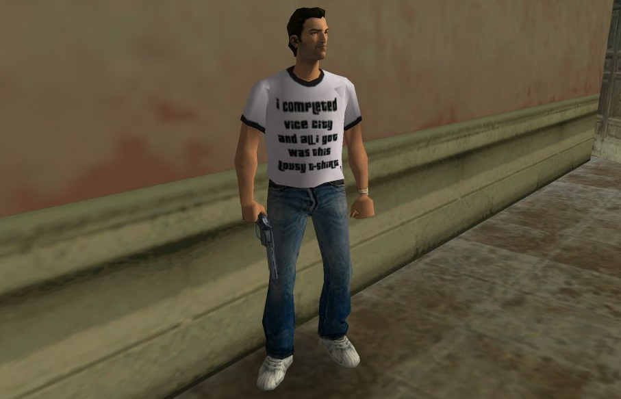 GTA Vice City was like a black hole for any free time.