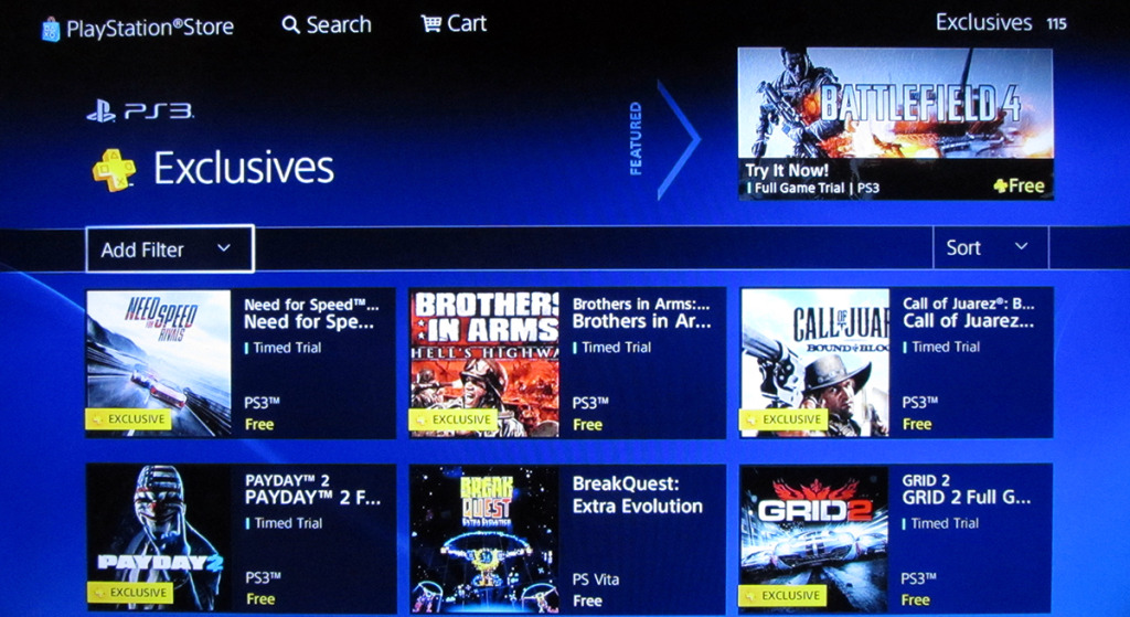 Playstation plus timed exclusives are a bad experience.