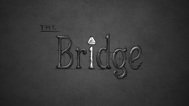 The bridge is a platform puzzle game on Steam.
