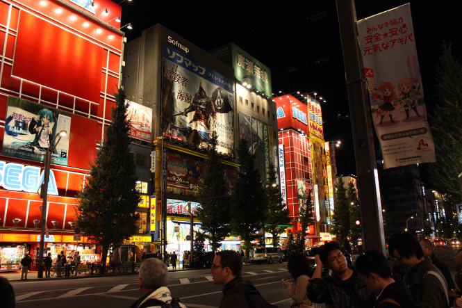 Visiting the FromSoftware studio in Tokyo, Japan.